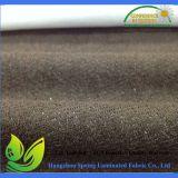 L'unité centrale de couleur de Brown enduite imperméabilisent le tissu tricoté de matelas