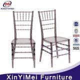 수지 판매를 위한 아크릴 Chiavari 의자 공장 가격 공간 결혼식 Chiavari 의자