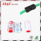 Koppeling 14/10mm, Rechte duw-Geschikte Schakelaar van Microducts voor Microduct 5/2.1mm, de Micro- Rechte Koppeling van de Buis