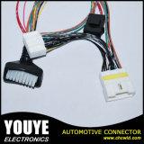 Cable eléctrico de los atalajes del varón del equipo electrónico y del alambre de la hembra