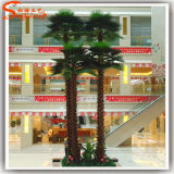 Boom van de Installaties van de Palm van de Herfst van de Glasvezel van de Decoratie van de markt de Kunstmatige