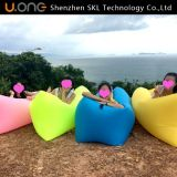 普及したシートのタイプ豆袋の空気ソファーのキャンプ休日のプールの膨脹可能な寝袋