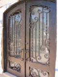 Boa porta dobro moderna da porta da segurança do ferro feito