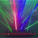 Doppeltes 8eyes RGB/Single Grün-bewegliches Hauptarmkreuz-Laserlicht