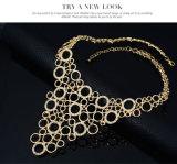 方法イヤリングのリングのブレスレットのネックレス4 PCSの一定の金結婚式の宝石類