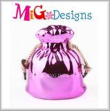 Marketing Stunning Wooden Moneda Bancos Ceramic Bag Money Box