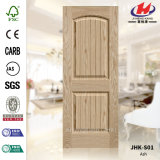 EV Sapelli HDF / MDF piel de puerta de panel moldeado