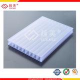 Het polycarbonaat berijpte Hol die Blad voor Serre (yuemei-PC) wordt gebruikt