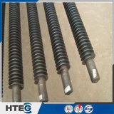 Amplia gama del tubo de aleta espiral modificado para requisitos particulares en ahorrador de la caldera