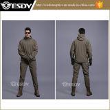 Комплект куртки + тяжелое дыхание военной формы 12 цветов водоустойчивый тактический