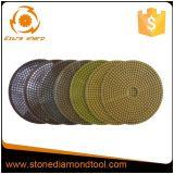 Diamond Floor Wet / Dry Polishing Abrasive Pads for Granite / Marble