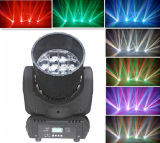 Luz colorida principal móvil de la viga de DMX 12PCS*10W LED