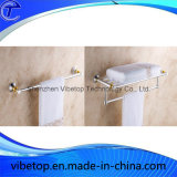 Rek van uitstekende kwaliteit van de Handdoek van het Type van Roestvrij staal van de Badkamers het Muur Opgezette