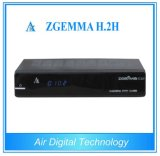 Tevê rápida Box Zgemma H. 2h de Running DVB S2 DVB T2/C Broadcasting Equipment Smart