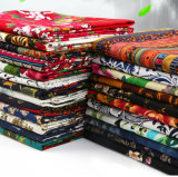 tela de algodão da impressão 100%Cotton para a roupa das crianças da saia do vestido