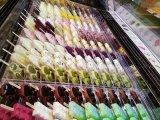 Congelador comercial de la visualización del Popsicle del caso de visualización del helado/del helado/de la visualización de la torta del helado para la venta