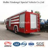Dongfeng Tianjin Wasser-Becken-Feuerbekämpfung-LKW-8ton freigelegter Typ