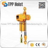 판매를 위한 Hsy 유형 2t 전기 사슬 블럭 드는 기중기