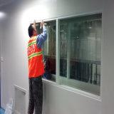 Ansicht-Fenster mit quadratischer Ecke für Cleanroom