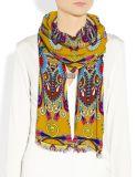 Écharpe en soie personnalisée d'impression de Digitals belle