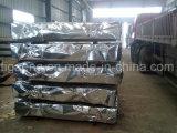 Azulejo de material para techos de acero galvanizado acanalado de la buena calidad para Etiopía