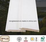 Panneau de mur en bois de sapin chinois flexible d'OEM
