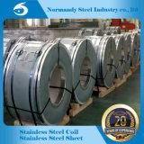 430 201 feuille/bobine de l'acier inoxydable Hr/Cr de fini du numéro 4 pour la construction