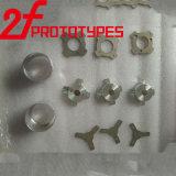 CNC que faz à máquina, peças fazendo à máquina do CNC, peças de alumínio de trituração