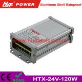 alimentazione elettrica di 24V5a LED/lampada/striscia flessibile IP65 Rainproof