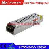 l'alimentazione elettrica di 24V5a LED/lampada/striscia flessibile sottile non impermeabilizzano
