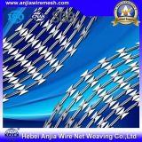 標準品質塀の網のWoithのセリウムISO9001のための電流を通された鉄かみそりワイヤー