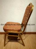 Оптовые золотистые стул банкета гостиницы/рамка алюминия/утюга/цветастый стул трактира