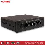 Nuevo negro de alta fidelidad del amperio de potencia de los canales 15W*2 del amplificador 2 de la clase D Digital Bluetooth
