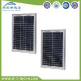 6W polykristalline TUV Panelsun-Batterie-Solarbatterie