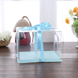 Emballage pliable Eco-friendly OEM Boîte à gâteau en plastique de qualité alimentaire (boîte pour animaux)