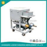 Máquina portátil da eliminação do petróleo hidráulico de Lushun Ly-150, óleo de lubrificação usado que recupera a máquina, petróleo da pressão da placa que recicl a máquina