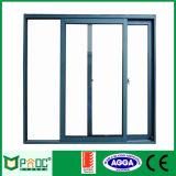 Puerta deslizante de aluminio estándar australiana con el vidrio doble