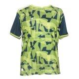 T-shirt court à séchage rapide de sport de la chemise de 2017 hommes neufs