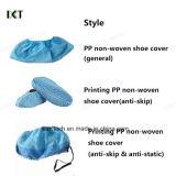 Cubiertas antideslizantes no tejidas del zapato de los PP