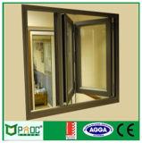 Finestra piegante di alluminio di Pnoc080910ls con la rete di zanzara