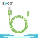 Tipo-c micro cable del relámpago de datos del USB para el teléfono móvil