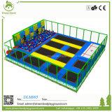 Yongjia 큰 직업적인 실내 Trampoline 공원 장비 PP 메시