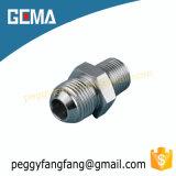 adaptateur hydraulique de connecteur mâle de mâle de 1jb Jic/tube de Bsp