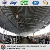 Cloche légère de bétail de structure métallique