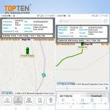 Perseguidor de la seguridad del coche del GPS del vehículo con la localización en la correspondencia de Google (TK208-ER)
