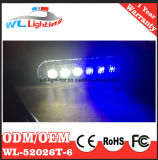 pista ligera superficial azul del blanco LED de la ambulancia 6W
