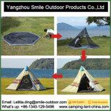8-10 Personen-Spitzeoberstes im Freien kampierendes Teepee-Zelt