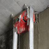 La colle automatique de mur de circuit hydraulique plâtrant la machine