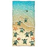 Toalhas de praia ultra macias, impressão reativa, feita da tela de Microfiber
