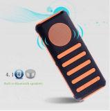 Bluetoothの無線小型スピーカーが付いている携帯用力バンク